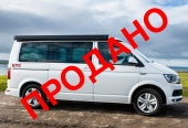 VW T6 City Van, кемпер 4x4